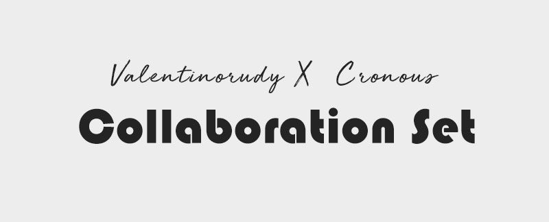 발렌티노 루디(VALENTINO RUDY) VR1117B-WTWT 남자시계 메탈시계 Collaboration Set